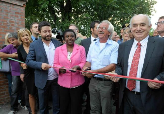 L'inaugurazione della sesta Festa del PD di Modena