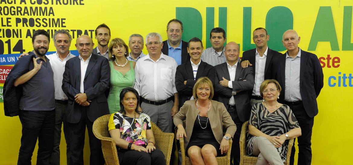 L stabilit incontro tra i parlamentari pd e sindaci del for Parlamentari del pd
