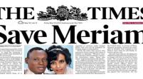 """Meriam, on. Kyenge """"Un successo italiano per i diritti umani"""""""