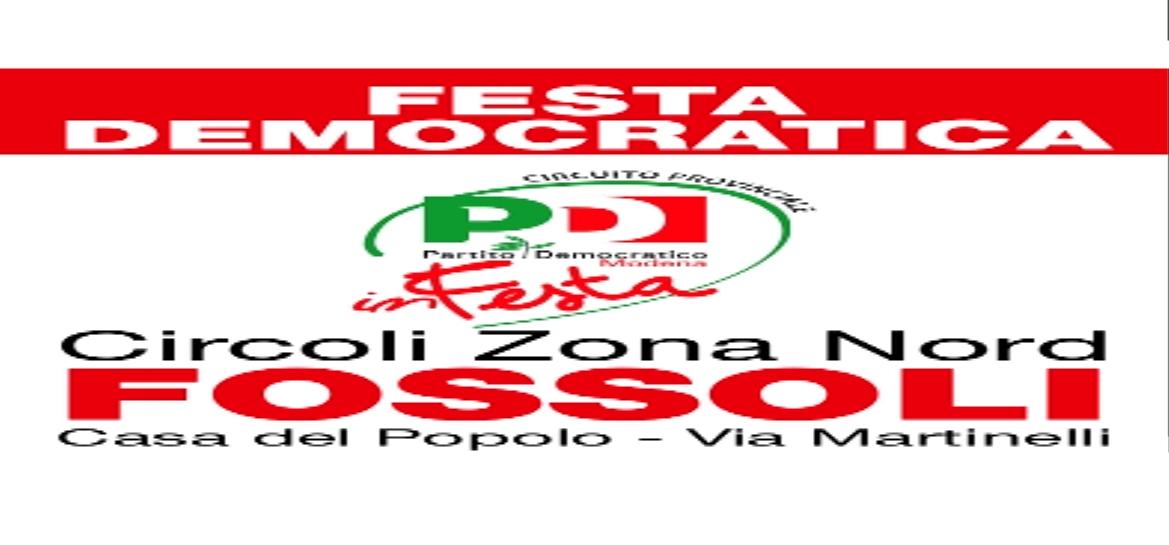 online store 6f5c4 0d9a5 Pd Carpi, torna dal 13 al 29 maggio la Festa democratica di ...