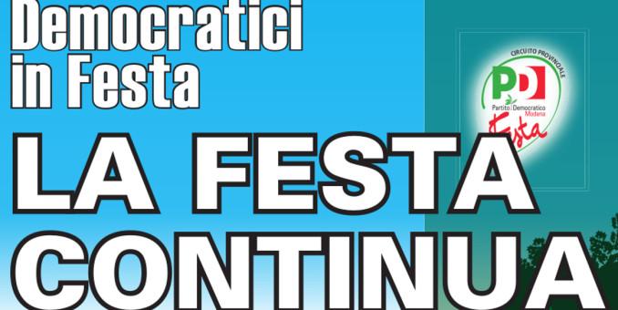 Bosco Albergati, è ancora Festa democratica dal 14 al 17 agosto