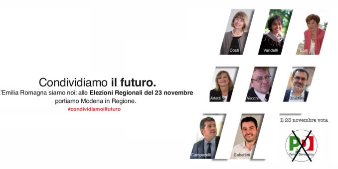 Regionali, l'invito al voto dei nostri candidati consiglieri