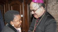 """Vescovo, on. Kyenge """"Un pastore attento agli ultimi"""""""