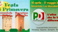 Nonantola, prende il via venerdì 10 aprile la Festa Pd di Primavera