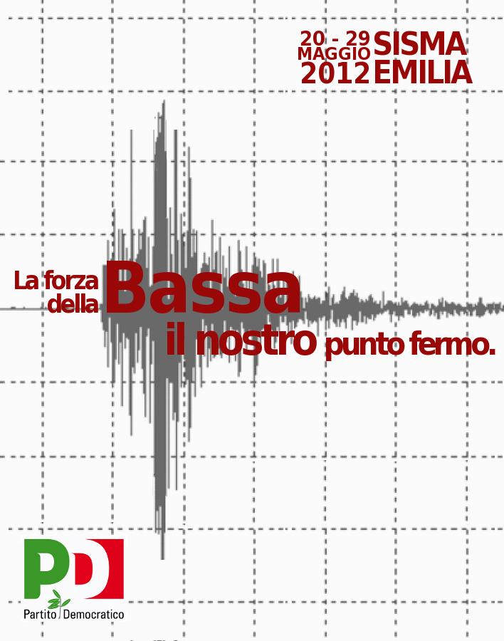 sisma emilia III anniversario vertivale