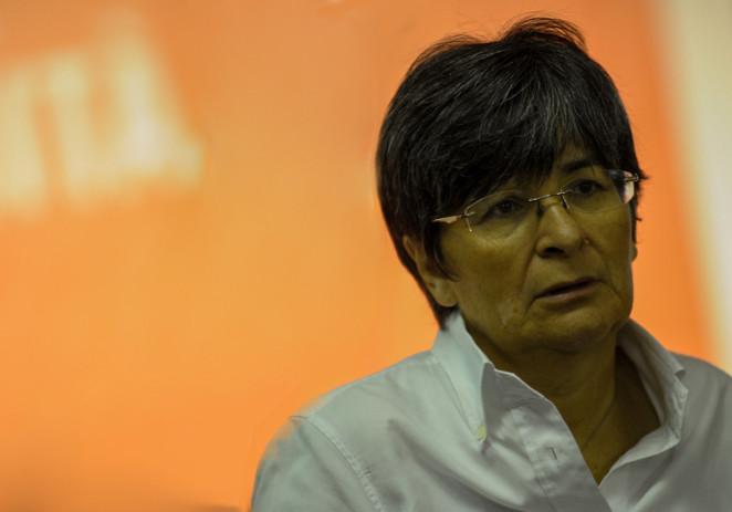Maria Cecilia Guerra sabato al 25esimo anniversario dell'Auser E.R.