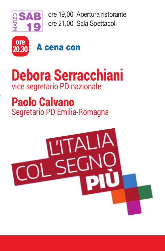 Programma POLITICO_venerdì 19_Serracchiani e Calvano