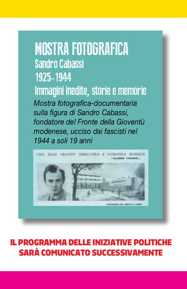 Programma SPETTACOLI_mostra fotografica