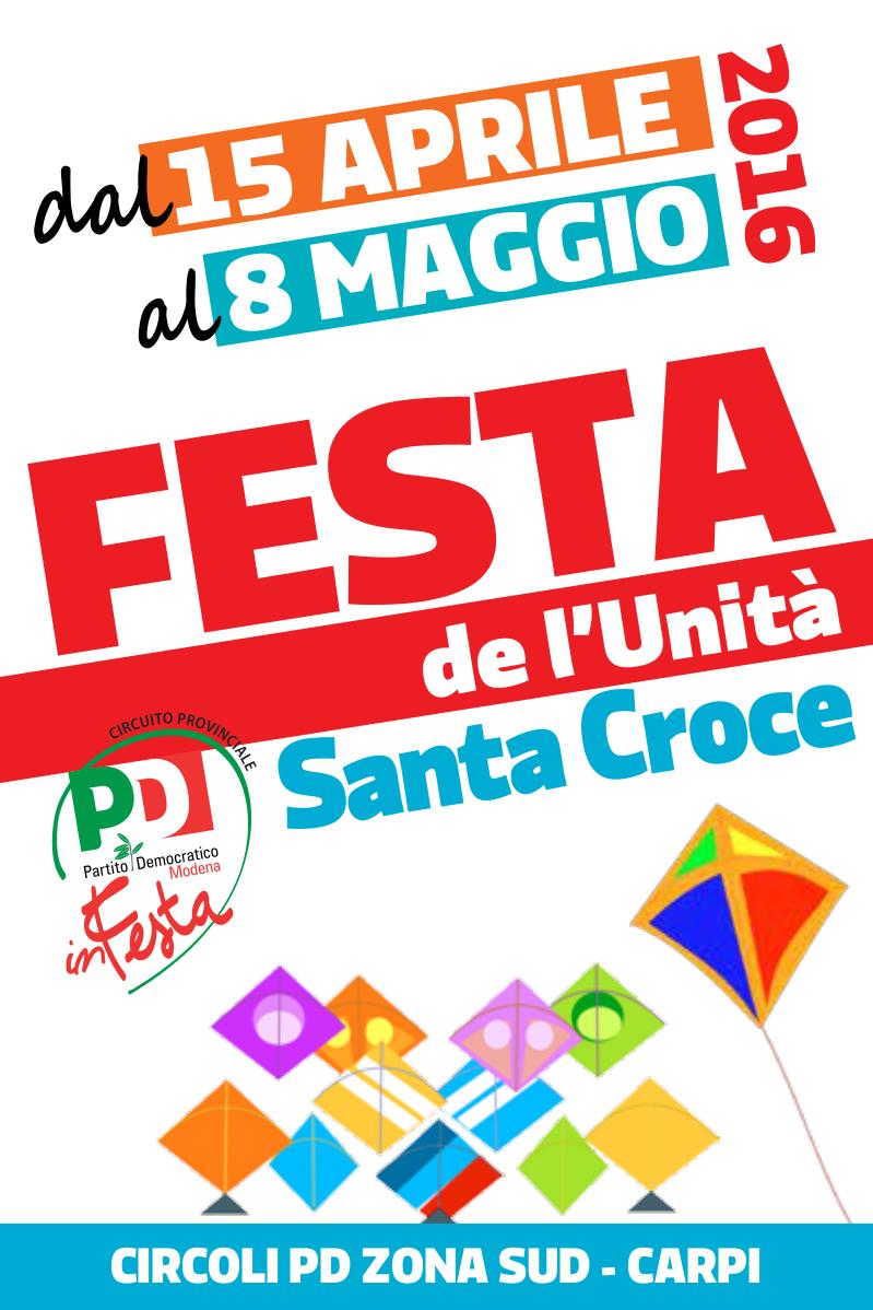 purchase cheap 03953 6c09b Carpi - Festa de l'Unità di Santa Croce - Pd Modena