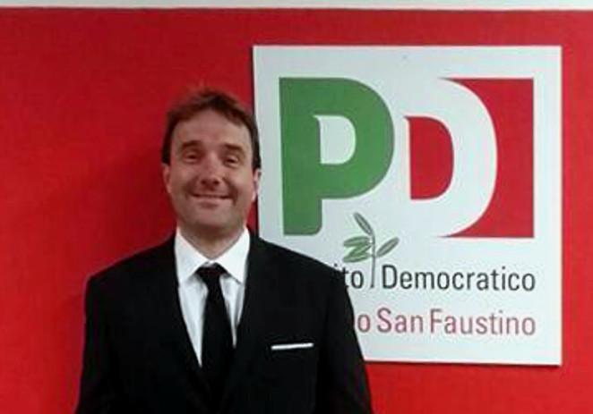 Pd San Faustino, Eddy Bellei eletto all'unanimità nuovo segretario