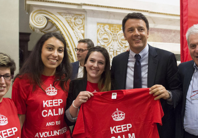 """Terzo settore, Patriarca """"Renzi conferma avvio fase due riforma"""""""