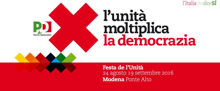 Ponte Alto, il programma politico della Festa provinciale de l'Unità
