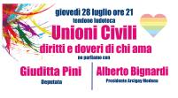 Bosco Albergati, giovedì si parla di unioni civili con Giuditta Pini