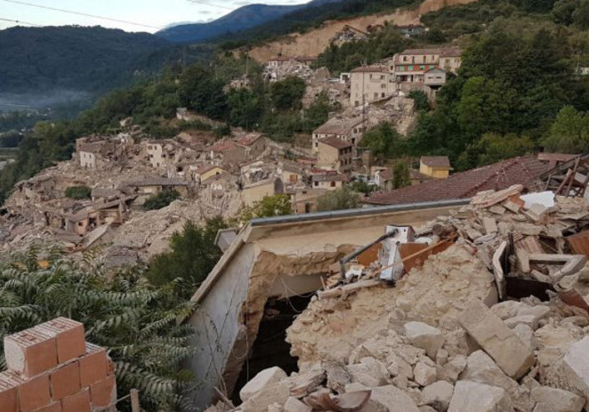 Sisma, Festa più sobria e parte dell'incasso alle zone colpite