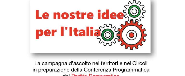 Pd Campogalliano, lunedì sera incontro con Boschini e Fava