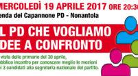 Nonantola, mercoledì sera confronto sulle tre mozioni congressuali