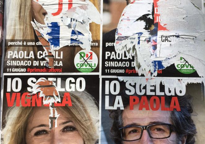 """Vignola, Paola Covili """"Strappati i miei manifesti elettorali"""""""