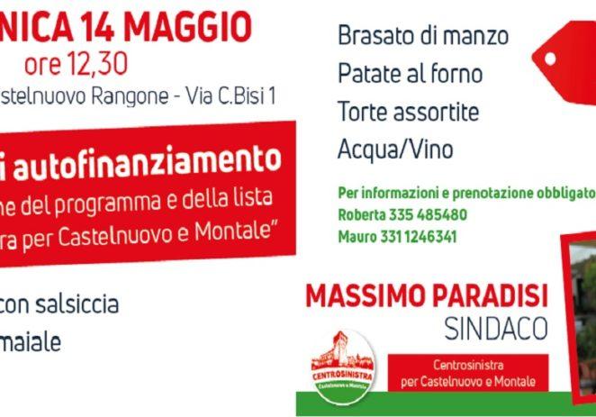 Castelnuovo, pranzo con il candidato sindaco Massimo Paradisi