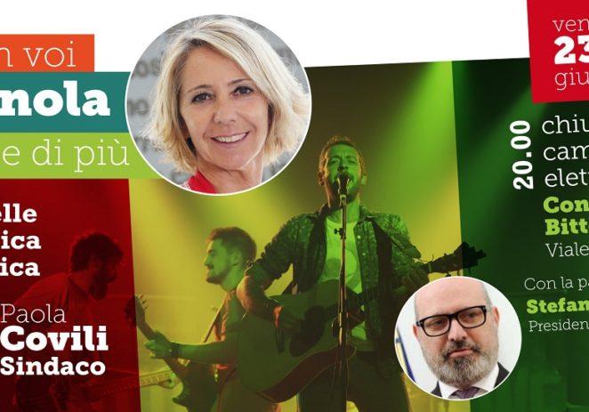 Vignola, venerdì chiusura di campagna con Covili e Bonaccini