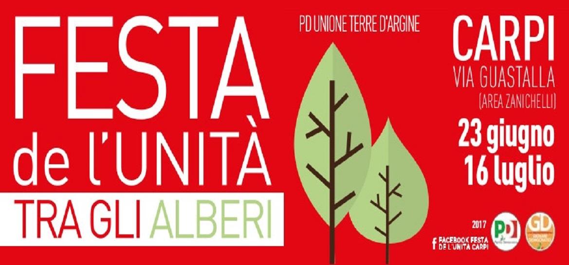 outlet store c501d f23a8 Carpi, da venerdì torna la Festa de l'Unità del Pd Terre d ...