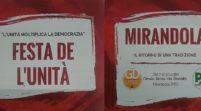 Pd e Gd Mirandola, dal 7 al 9 luglio torna la Festa de l'Unità