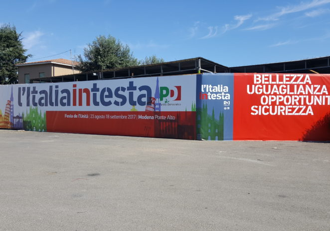 Ponte Alto, il cartellone degli spettacoli della Festa de l'Unità