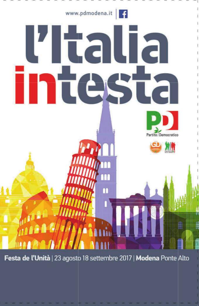 Ecco il programma della Festa de l'Unità di Modena a Ponte Alto