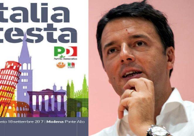 Ponte Alto, sabato alle 19.00 arriva il segretario Pd Matteo Renzi