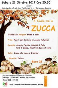 Castelnuovo – A cena con la zucca