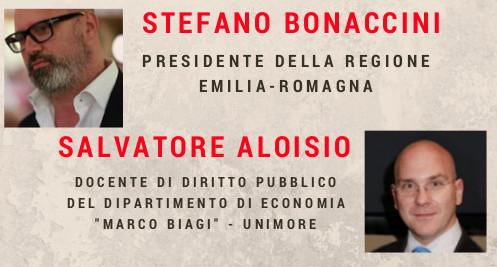 Pd Campogalliano, domenica incontro con Bonaccini e Aloisio