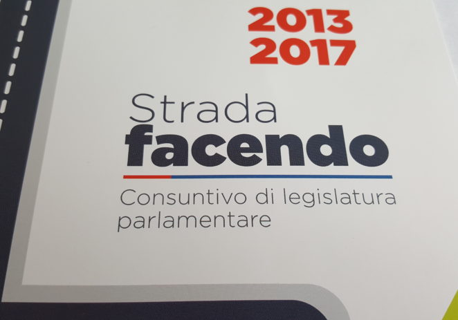 Venerdì Vaccari presenta il consuntivo di legislatura a Sassuolo
