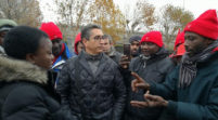 Castelfrigo, Kyenge ha portato solidarietà ai lavoratori degli appalti