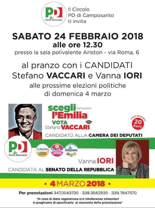 Camposanto 24 febbraio