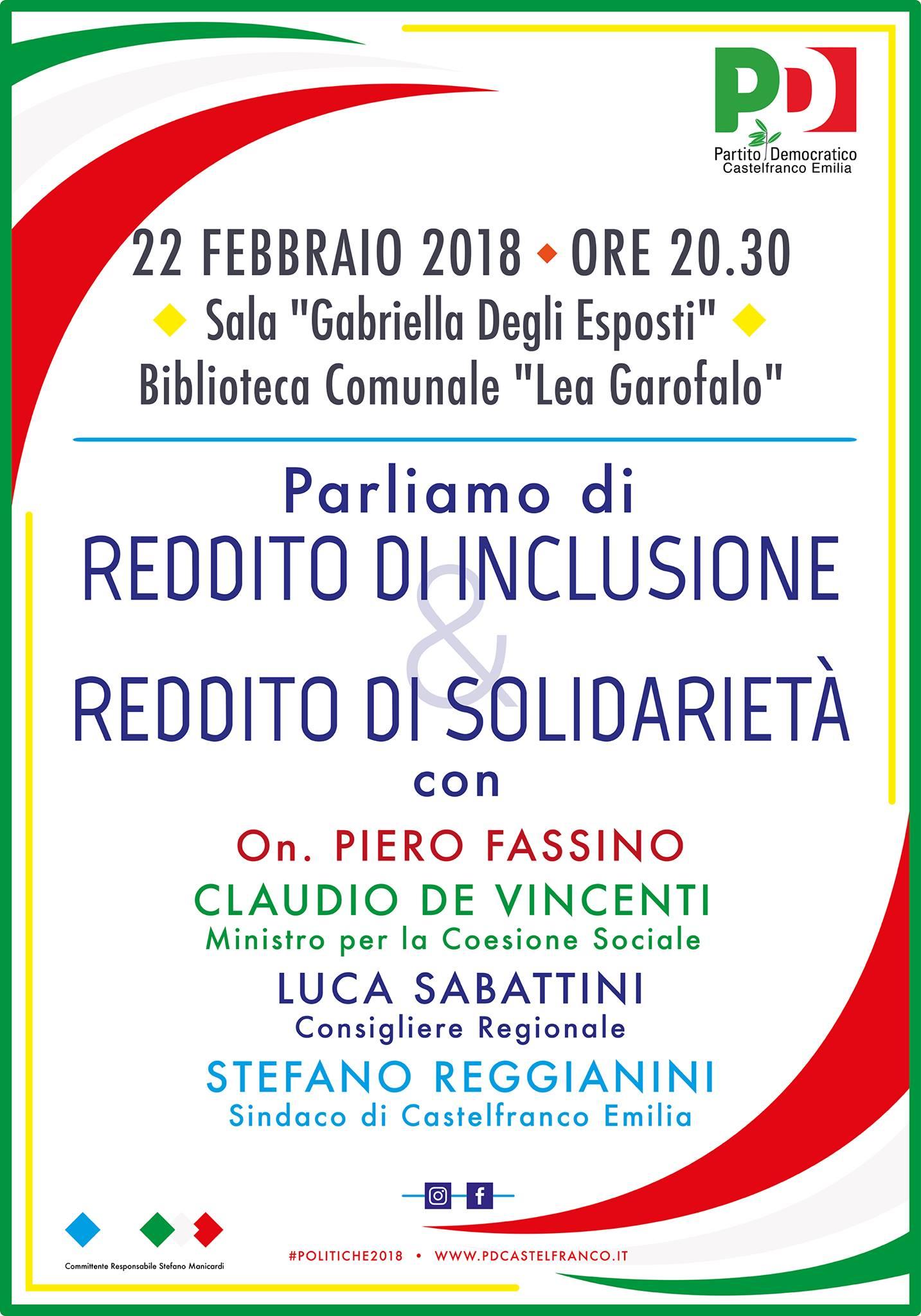 Castelfranco 22 febbraio
