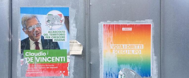 Strappati manifesti Pd a Magreta, Medolla, Spilamberto e Modena