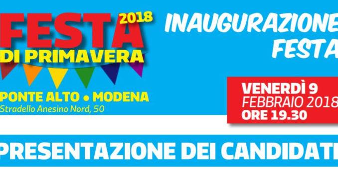 Ponte Alto, venerdì 9 alle ore 19.30 presentazione dei candidati