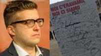 """Vandalismi, Bortolamasi """"Vigliaccata contro la stele per Moro"""""""