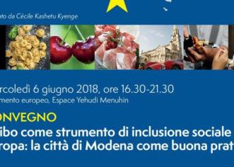 "Kyenge ""Eccellenze modenesi in mostra all'Europarlamento"""