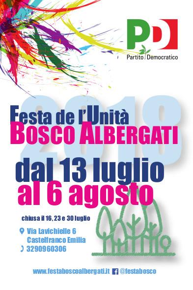 Festa de l'Unità di Bosco Albergati