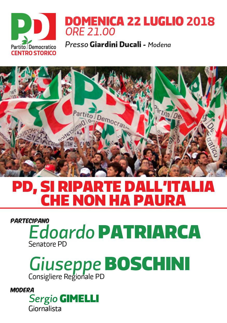 Modena- Domenica  22 luglio