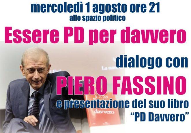 Bosco Albergati, mercoledì incontro con l'on. Piero Fassino