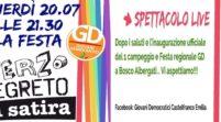 Bosco Albergati, venerdì la festa regionale dei Giovani democratici