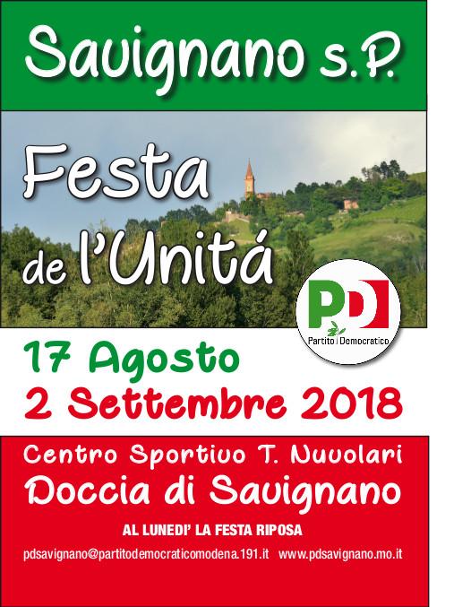 Festa de l'Unità di Savignano