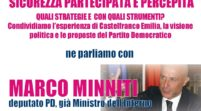Bosco Albergati, Sicurezza partecipata e percepita con l'on. Minniti