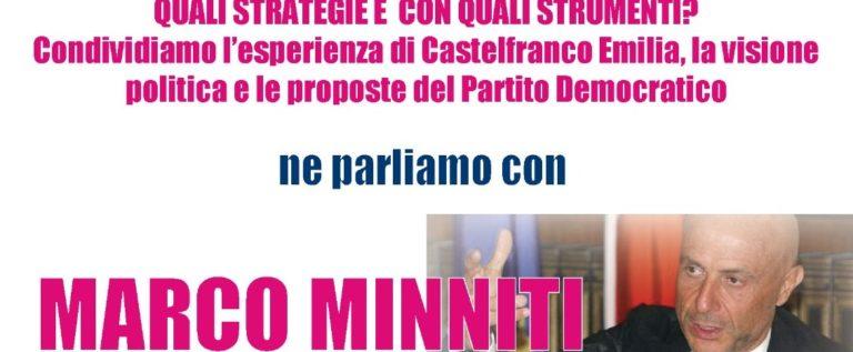 Bosco Albergati, Sicurezza partecipata e percepita con l'on. Minniti