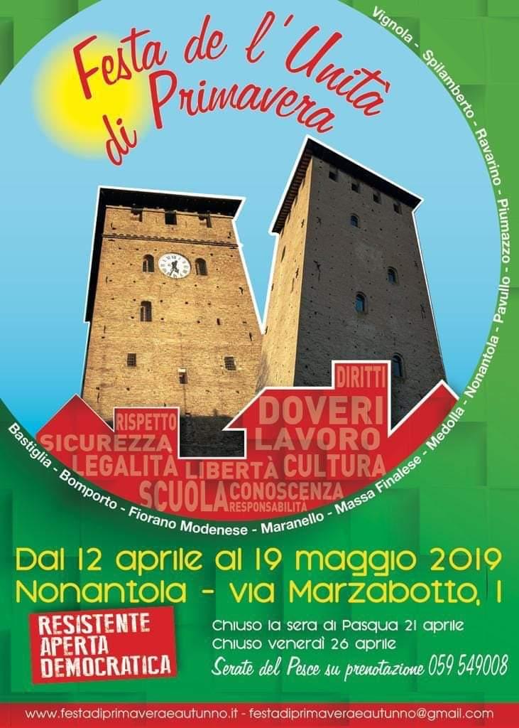 Nonantola, 12 aprile