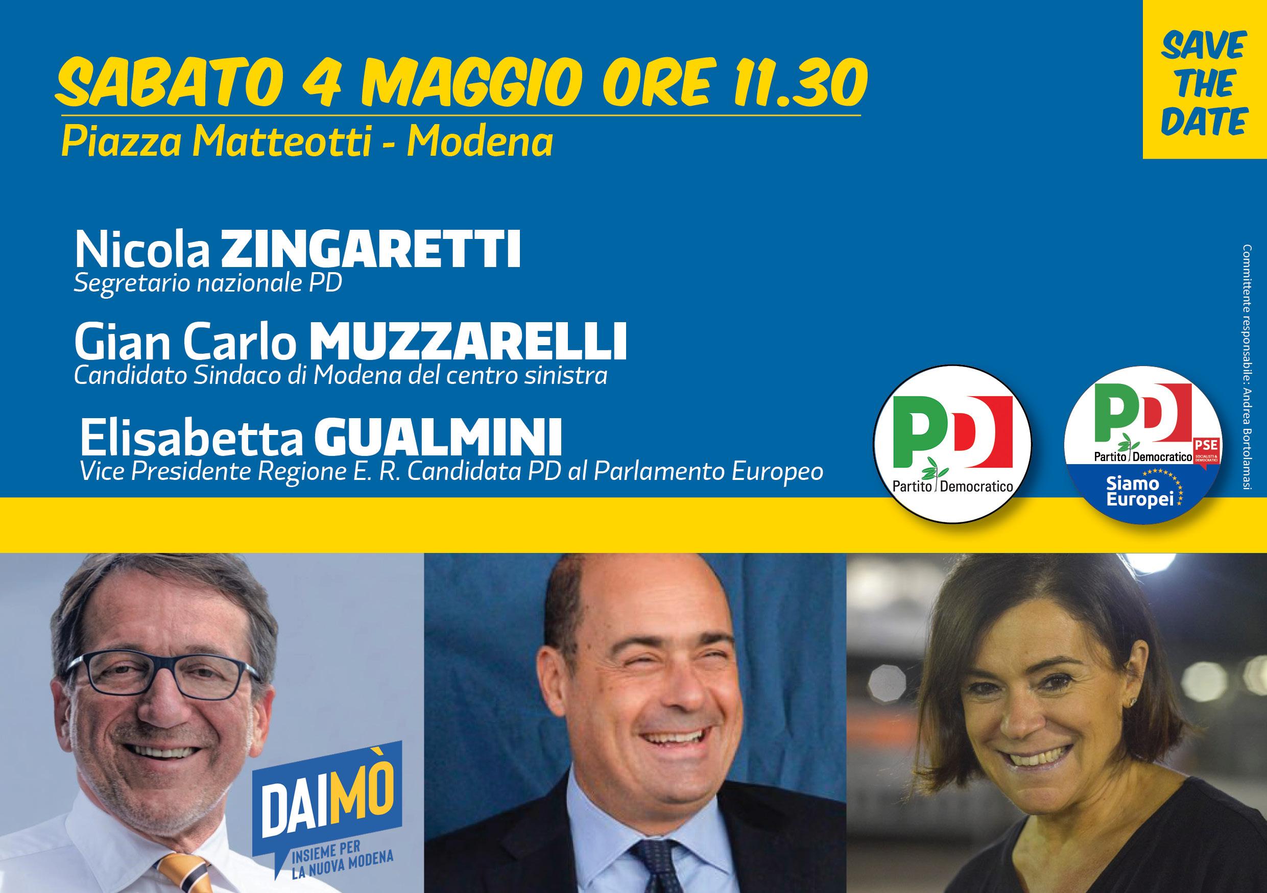 Modena, 4 maggio