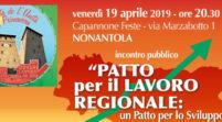 Nonantola, venerdì si parla di lavoro alla Festa di primavera