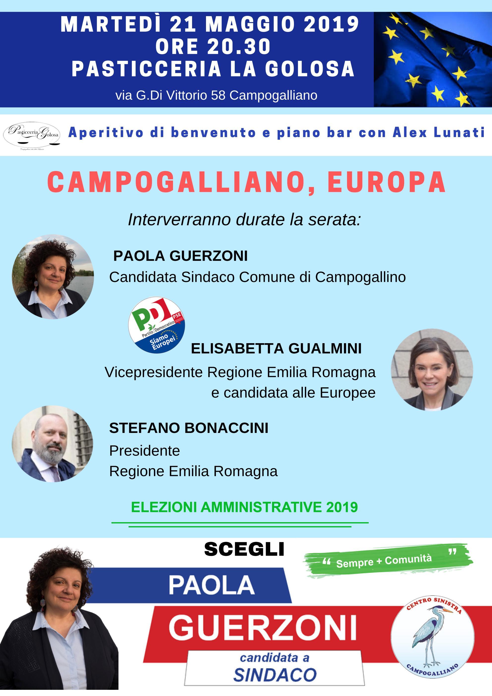 Campogalliano, 21 maggio
