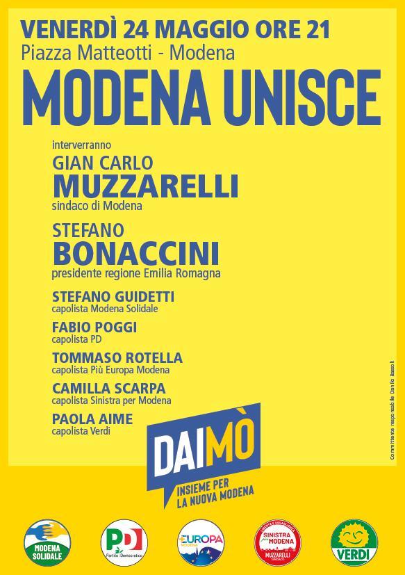 Modena, 24 maggio